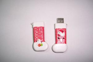 Santa Shoes USB Flash Drive